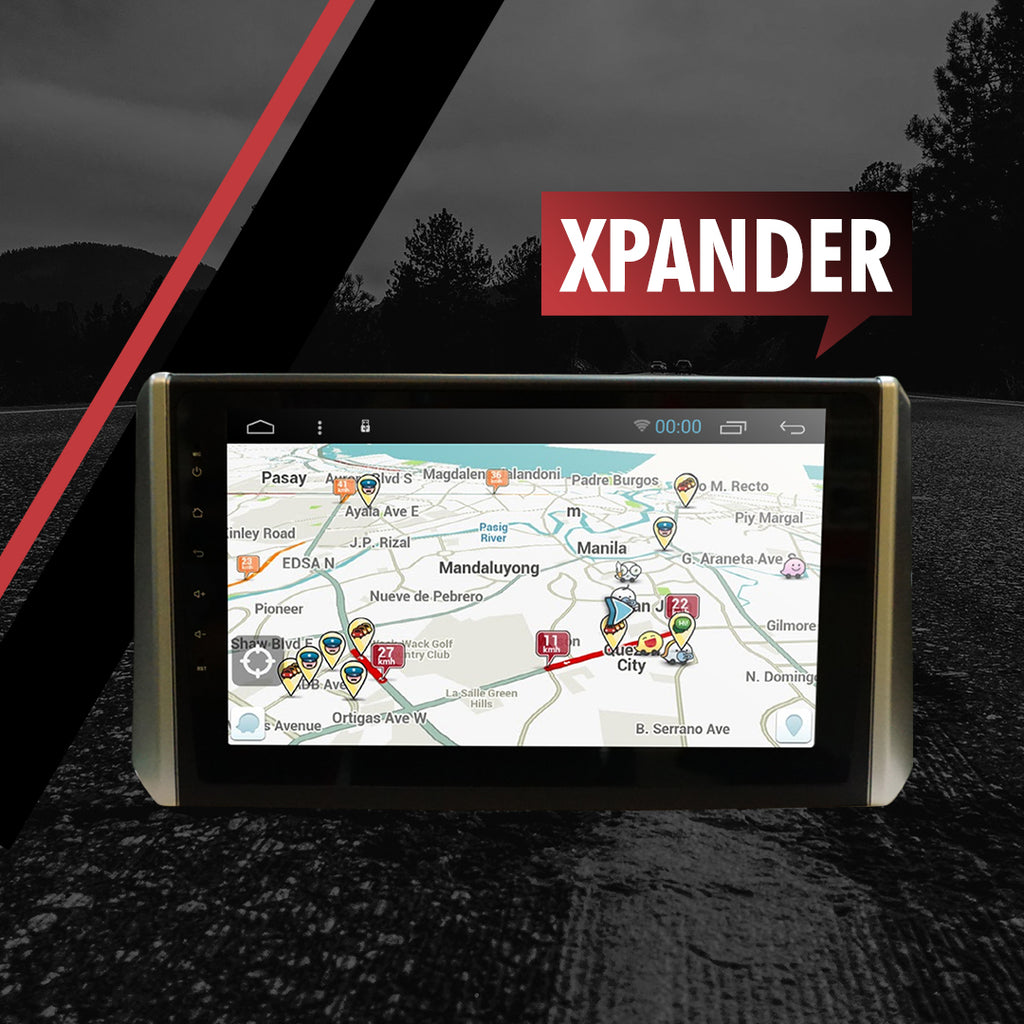 "Growl for Mitsubishi Xpander 2018- 2020 All Variants Android Head Unit 9"" FULL TAB"