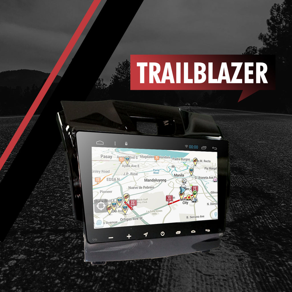 "Growl for Chevrolet Trailblazer 2014-2016 4x2 LTX AT Android Head Unit 9"" FULL TAB"