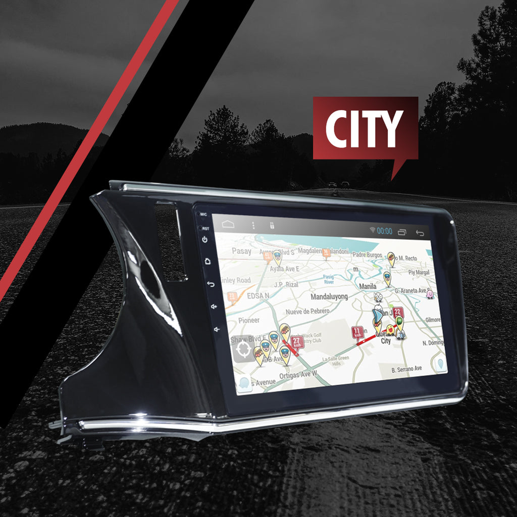 "Growl for Honda City 2014-2020 All Variants Android Head Unit 10"" FULL TAB"