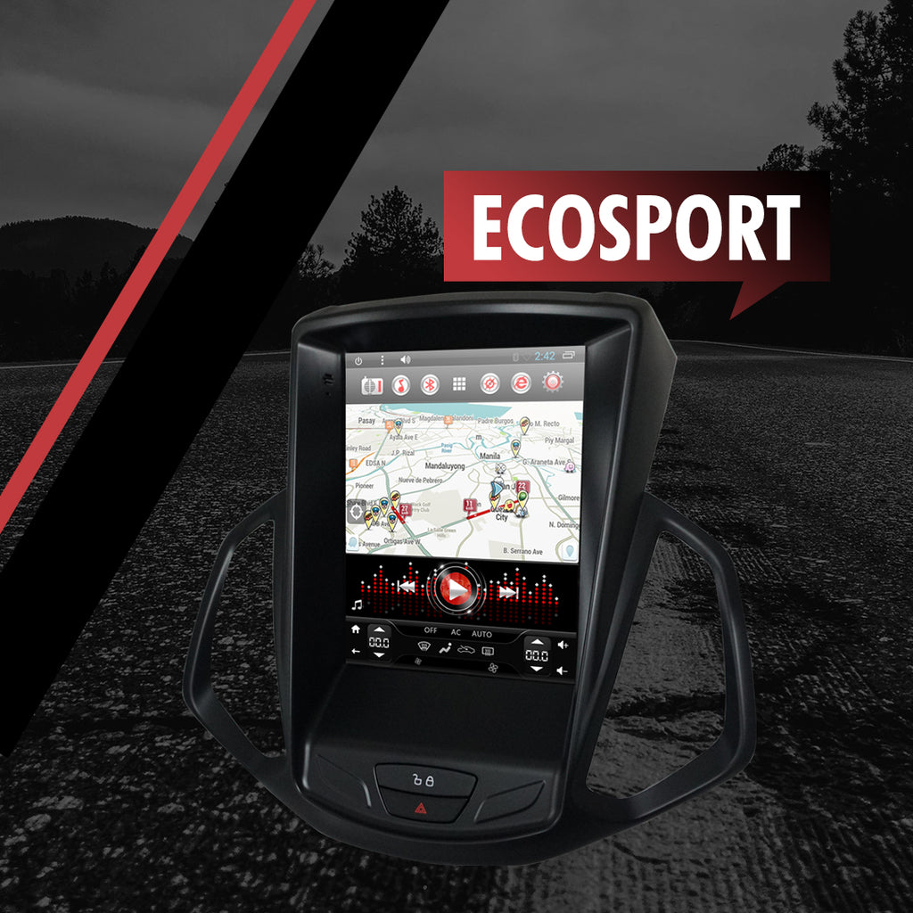 "Growl for Ford Ecosport 2013-2018 All Variants Android Head Unit 10.1"" Screen"