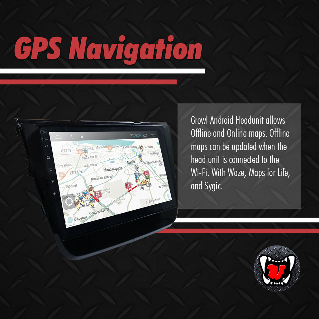 "Growl for MG ZS 2019-2020 Android Head Unit 10"" FULL TAB"