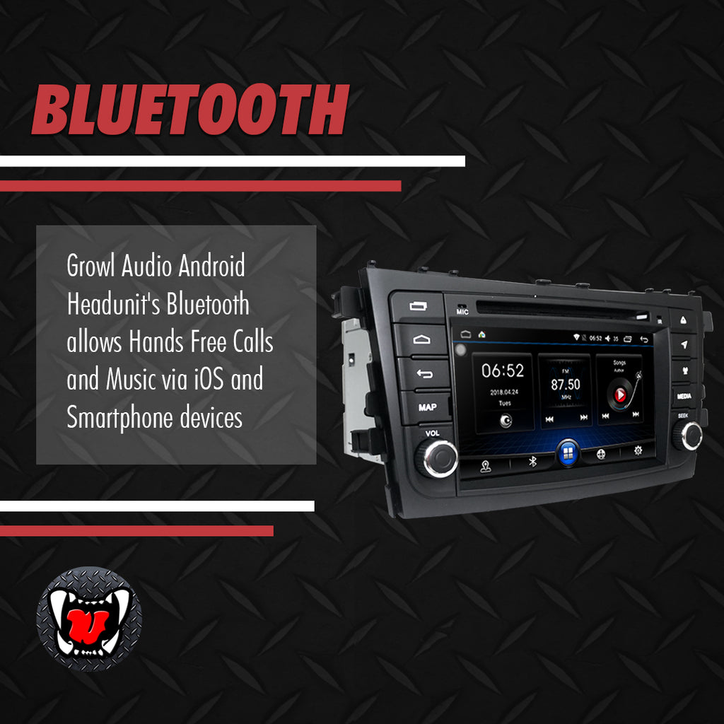 "Growl for Suzuki Celerio 2015-2020 All Variants Android Head Unit 8"" BUTTON TYPE"