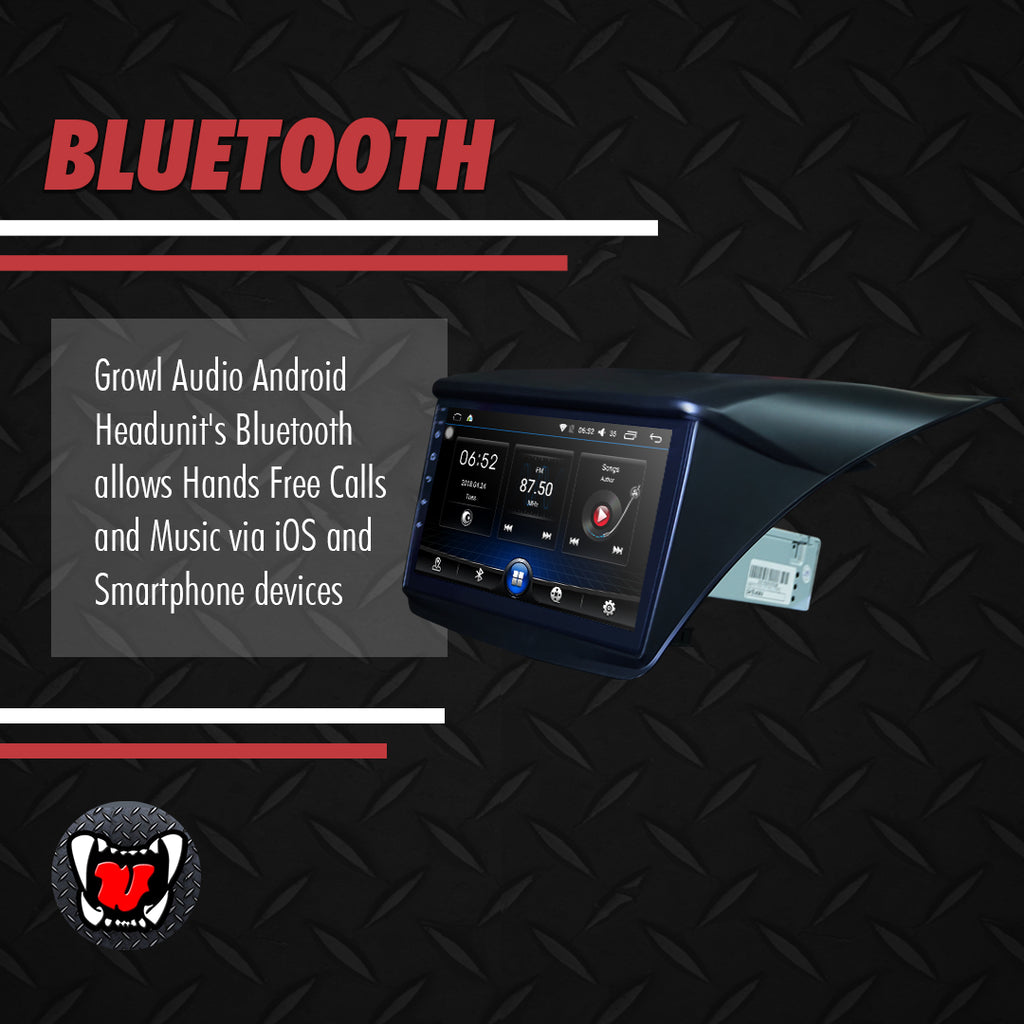 "Growl for Mitsubishi Montero 2007-2015 All Variants Android Head Unit 9"" FULL TAB"