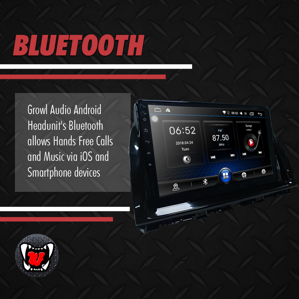 "Growl for Mazda CX5 2012-2017 All Variants Android Head Unit 9"" Screen"