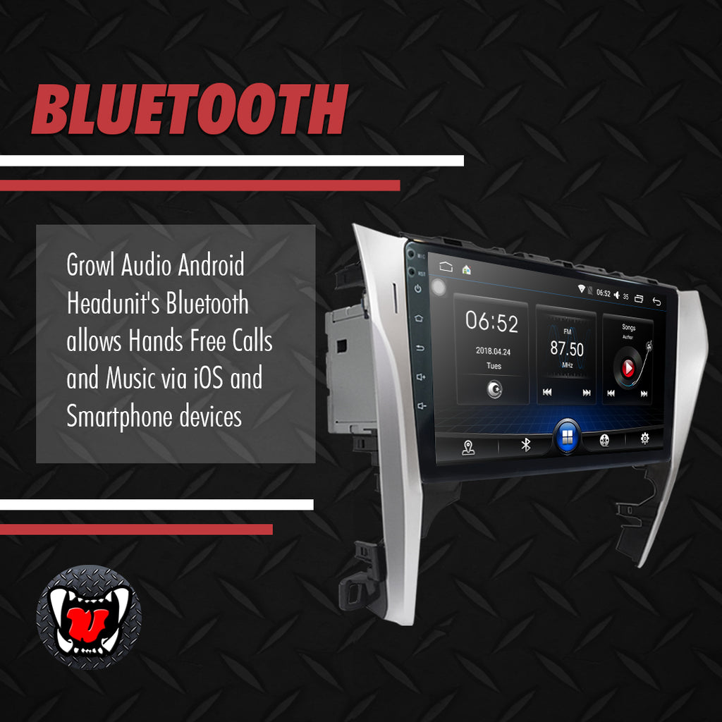 "Growl for Toyota Camry 2015- 2017 Android Head Unit 10"" Screen"