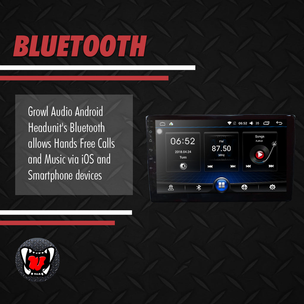 "Growl for Mazda CX-9 Android Head Unit 10"" Screen"