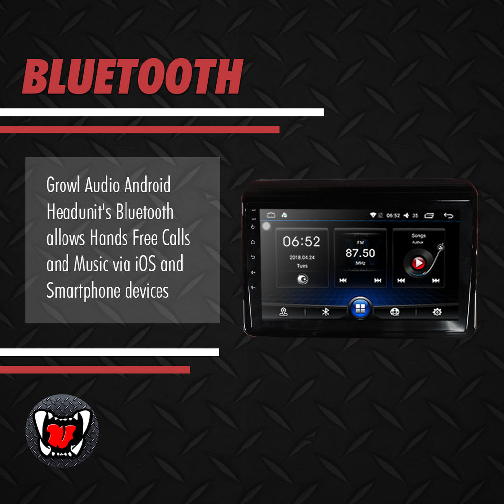 "Growl for Suzuki All New XL7 2019-2020 All Variants Android Head Unit 9"" FULL TAB"