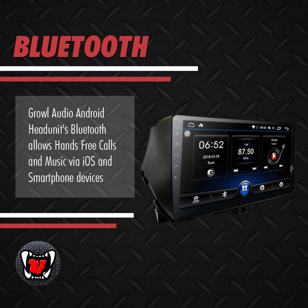 Growl for Suzuki Ciaz All Variants Android Head Unit 9""