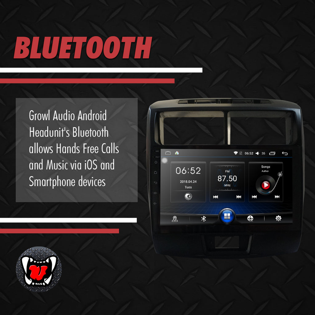"Growl for Toyota Avanza 2012-2016 All Variants Android Head Unit 9"" Screen"