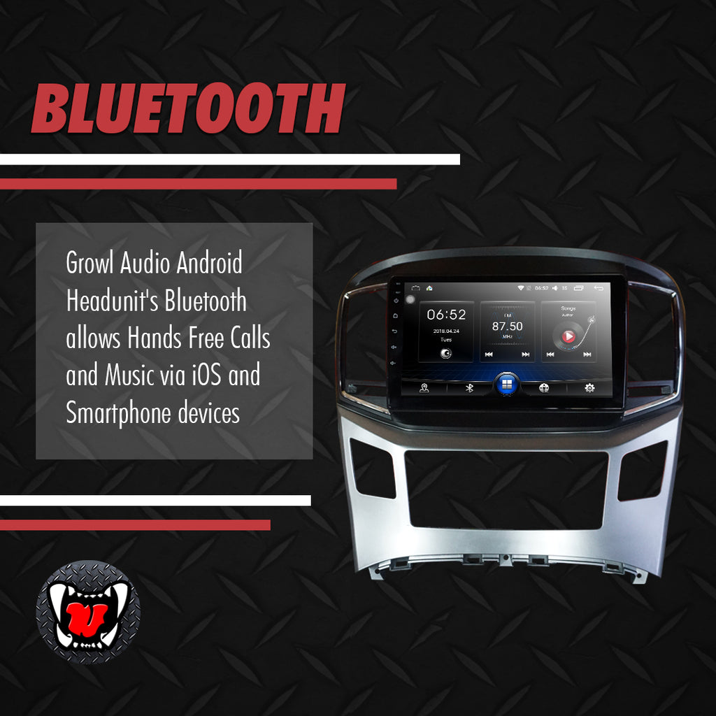 "Growl for Hyundai Starex 2016-2018 Variants Android Head Unit 9"" Screen"