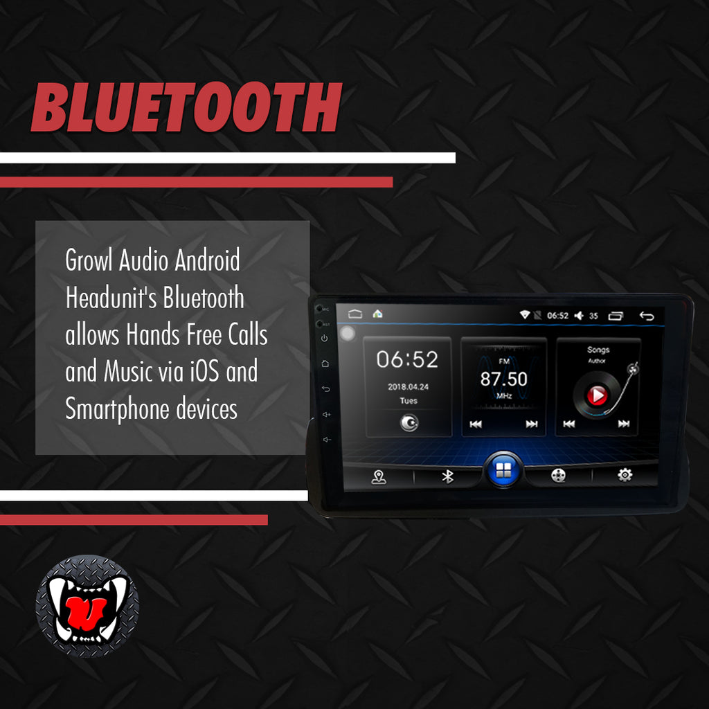 "Growl for Mazda BT50 2016-2020 All Variants Android Head Unit 10"" Screen"