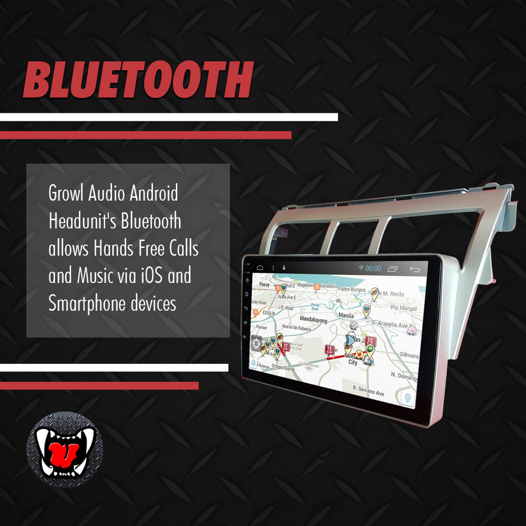 "Growl for Toyota Vios 2007-2013 All Variants Android Head Unit 9"" Screen"