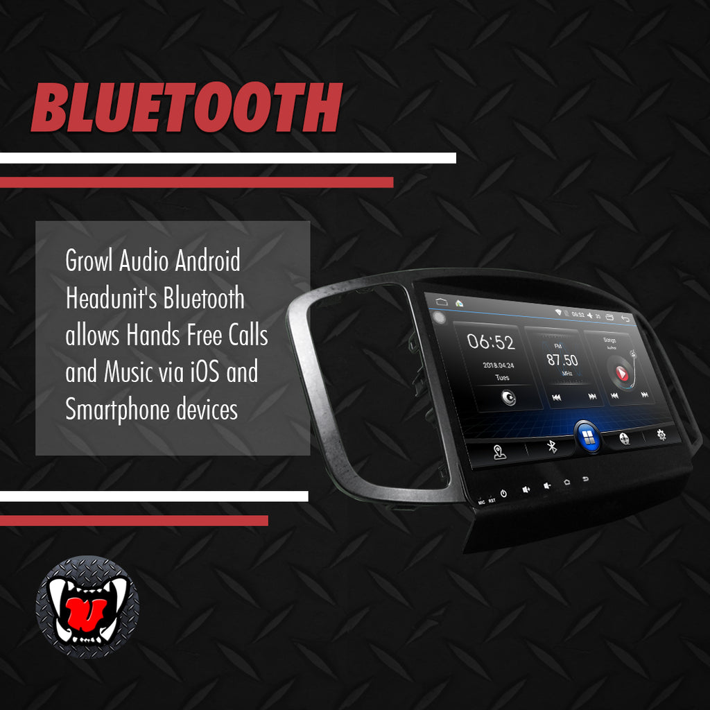 "Growl for Foton Toplander  2016-2020 Android Head Unit 9"" FULL TAB"