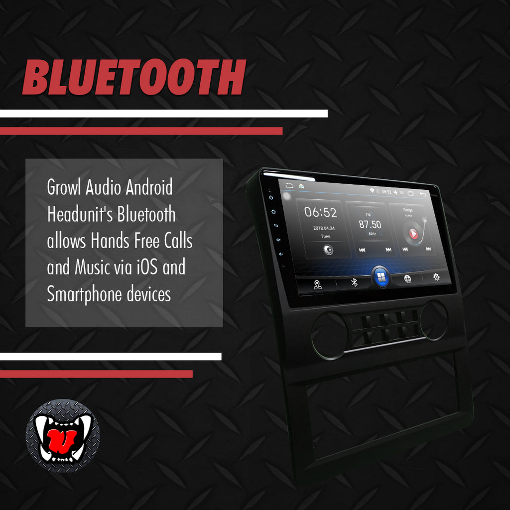 "Growl for Foton Transvan 2018-2020 Android Head Unit 9"" FULL TAB"