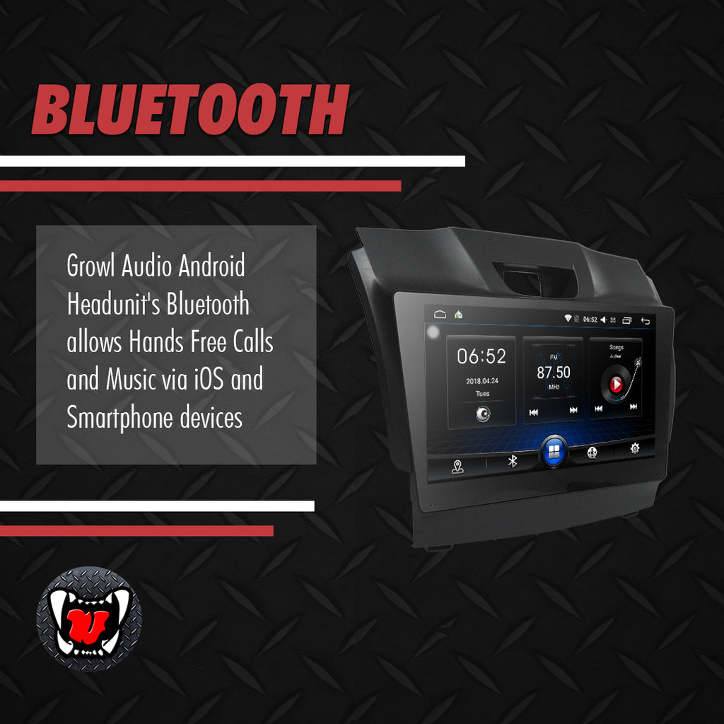 "Growl for Chevrolet Colorado 2014-2016 4x4 LTZ Android Head Unit 9"" FULL TAB"