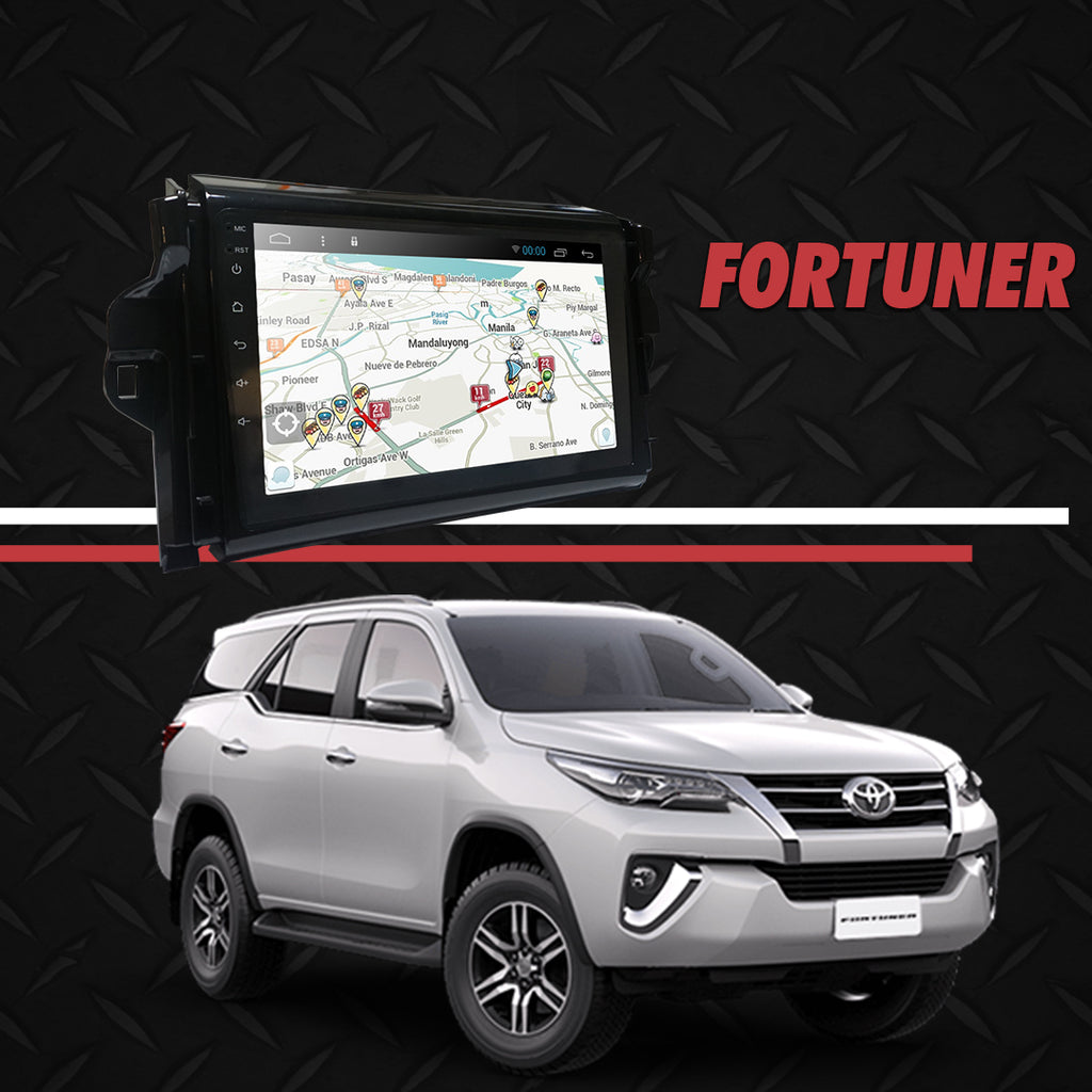 "Growl for Toyota Fortuner 2016- 2020 All Variants Android Head Unit 9"" Screen"