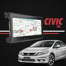 "Load image into Gallery viewer, Growl for Honda Civic FB 2012-2016 All Variants Android Head Unit 9"" FULL TAB"