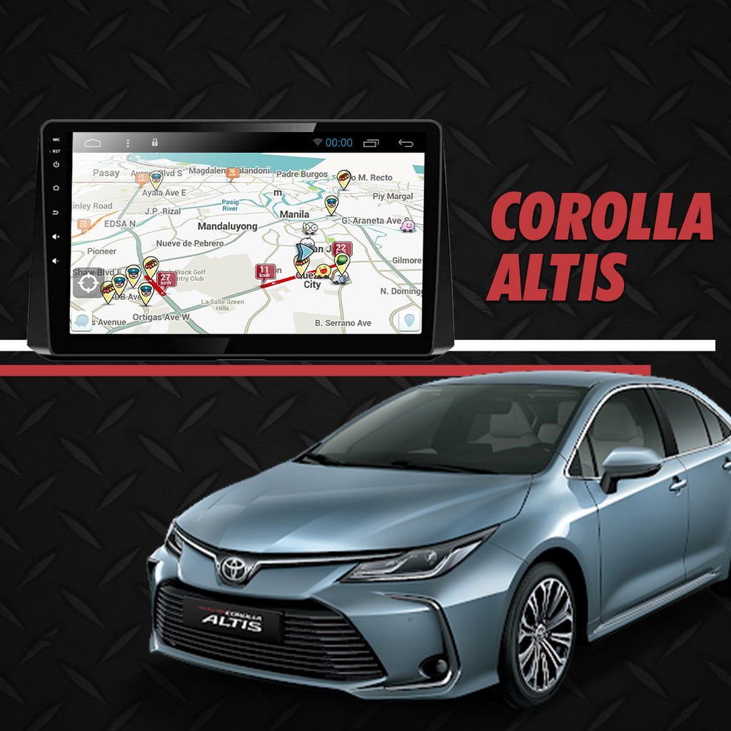 "Growl for Toyota Corolla Altis 2020-2021 All Variants Android Head unit 10"" Screen"