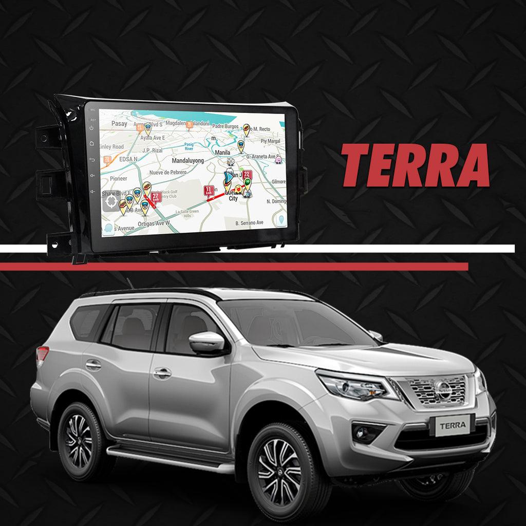"Growl for Nissan Terra 2018-2020 All Variants Android Head Unit 10"" Screen"