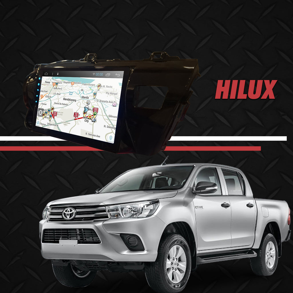 "Growl for Toyota Hilux 2016-2020 All Variants Android Head Unit 10"" Screen"