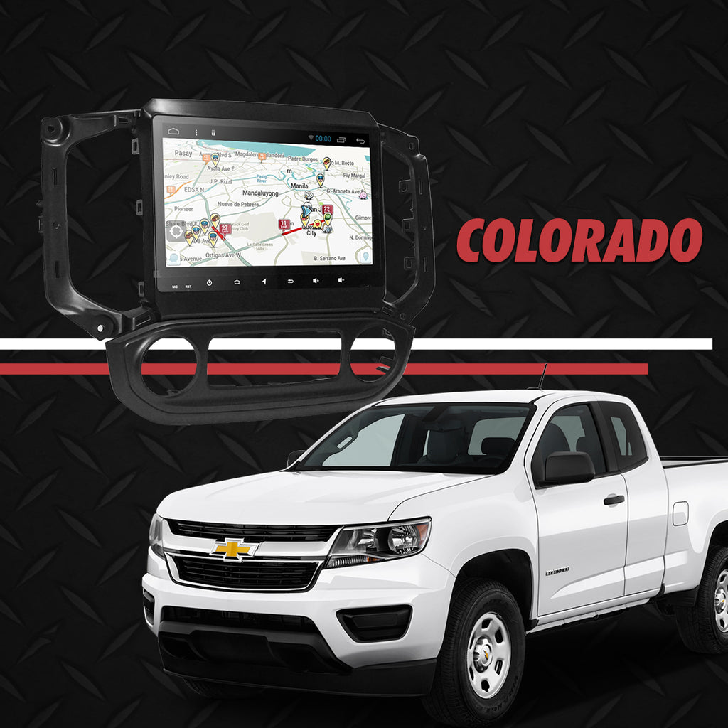 "Growl for Chevrolet All New Colorado 2018-2020 LTZ/LTX Android Head Unit 9"" FULL TAB"