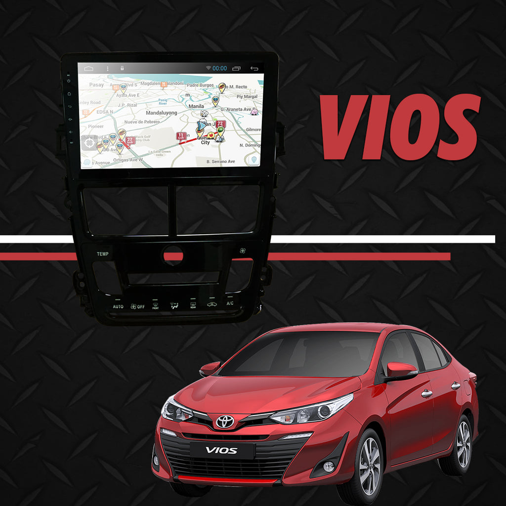 "Growl for Toyota Vios 2019-2020 1.5 Android Head Unit 9"" Screen"