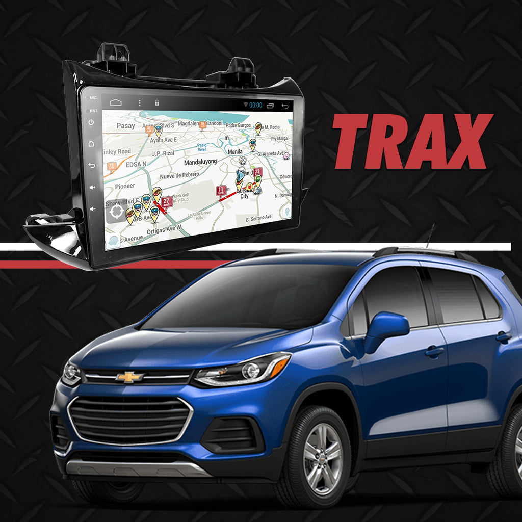 "Growl for Chevrolet Trax New 2016-2017 LT AT/ LS Android Head Unit 9"" FULL TAB"