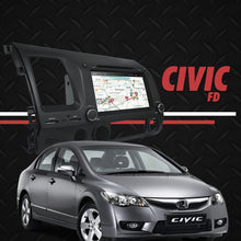 "Load image into Gallery viewer, Growl for Honda Civic FD 2007-2011 All Variants Android Head Unit 8"" BUTTON TYPE"