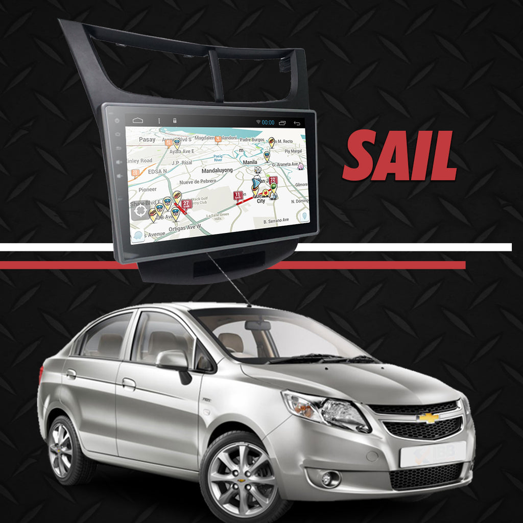 "Growl for Chevrolet SAIL 2016-2017 Low End Android Head Unit 9"" FULL TAB"