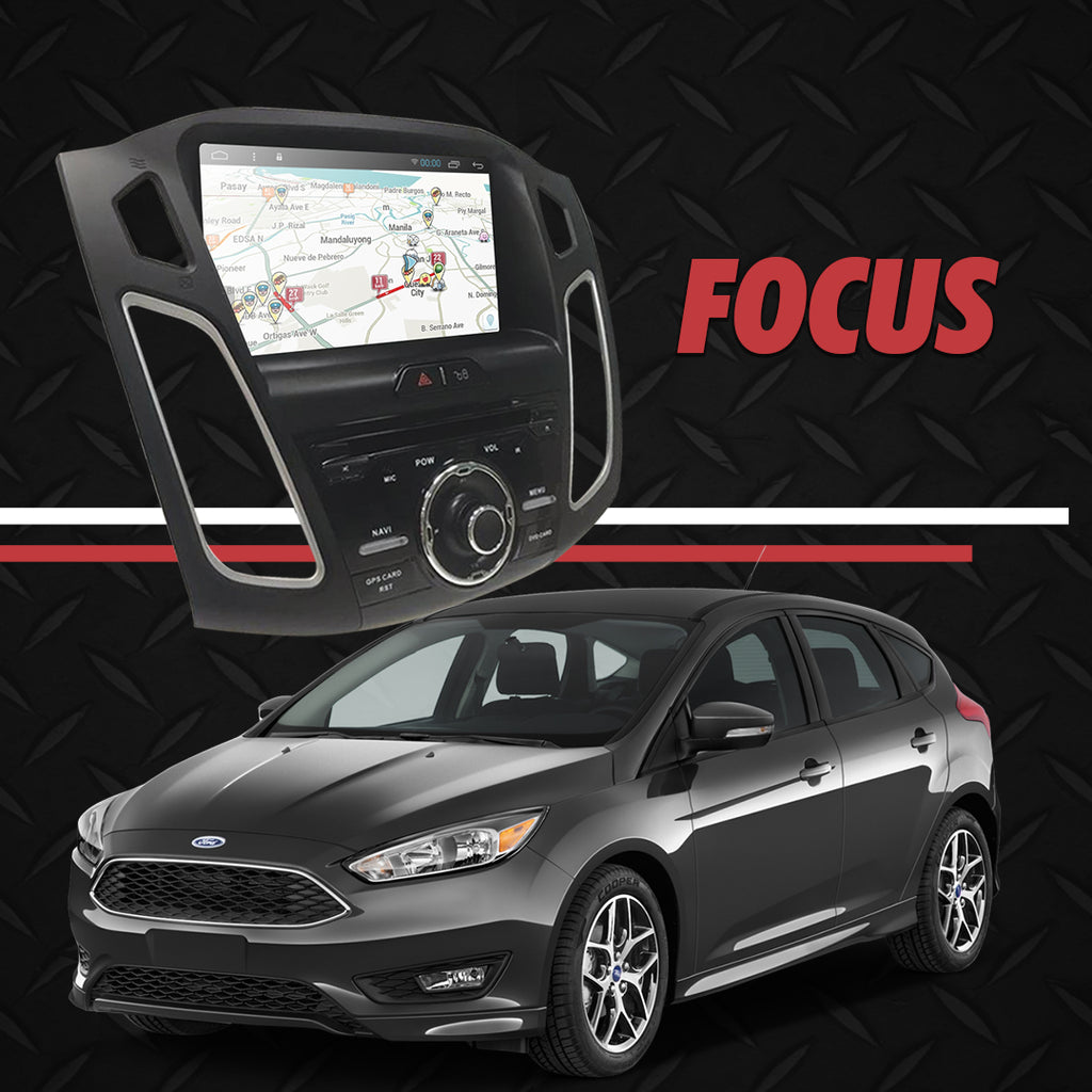 "Growl for Ford Focus 2013-2018 All Variants Android Head Unit 9"" FULL TAB"