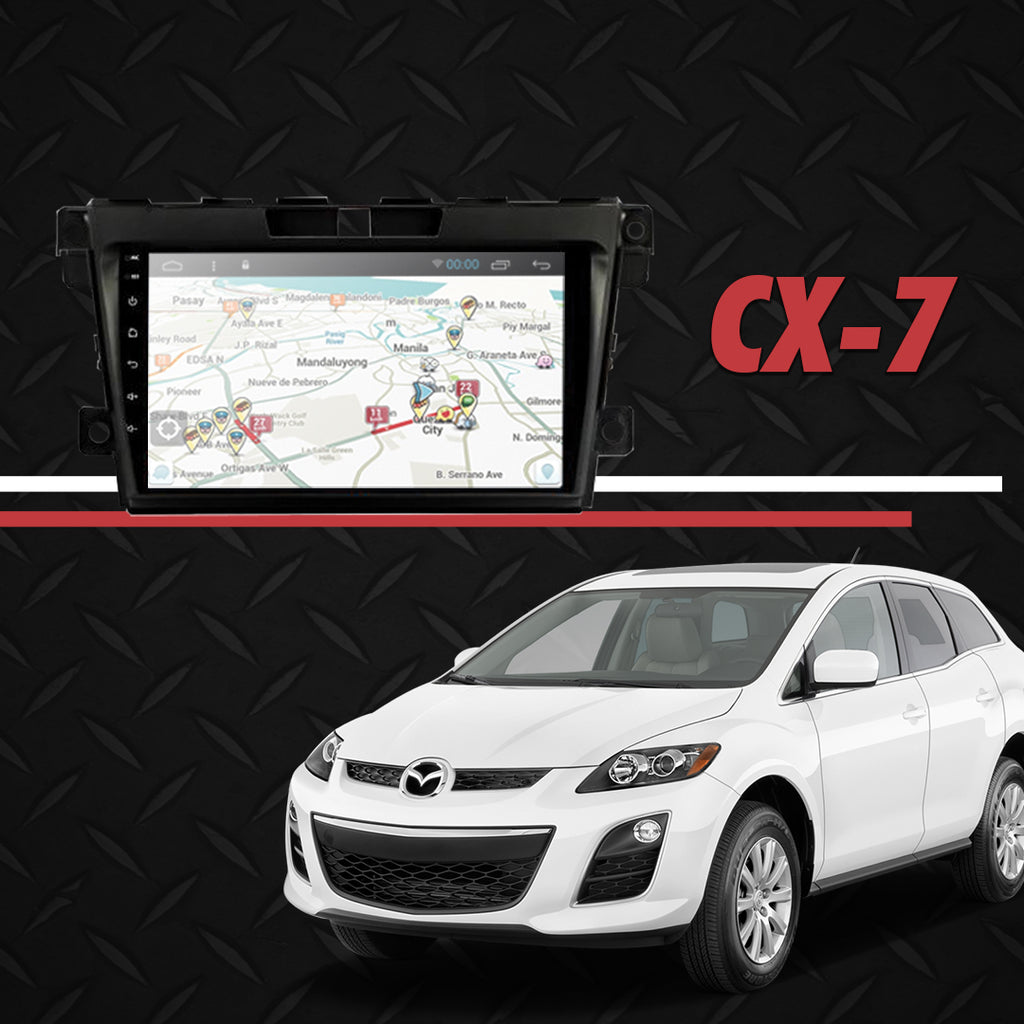 "Growl for Mazda CX7 2006-2012 All Variants Android Head Unit 9"" Screen"