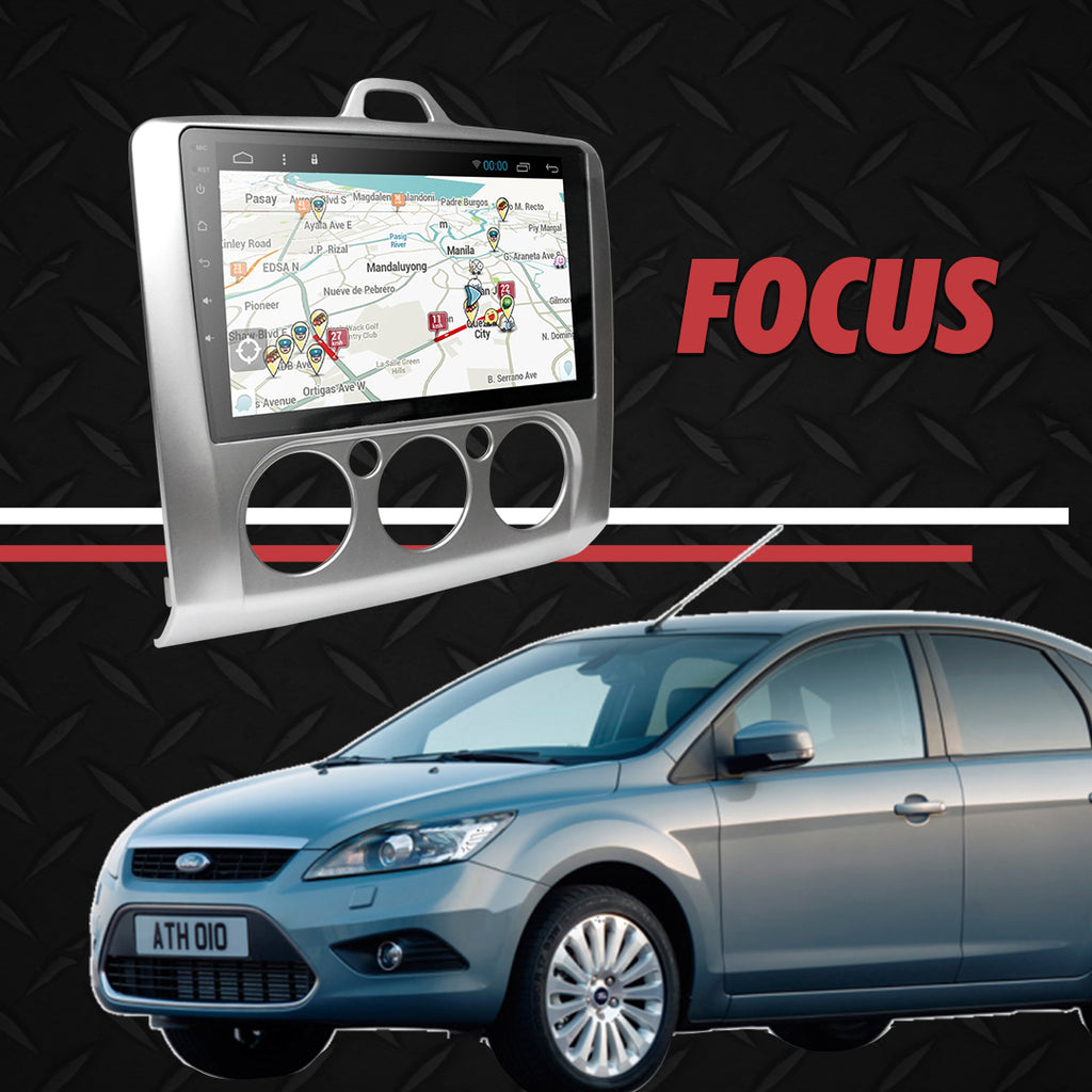 "Growl for Ford Focus 2 2008-2012 Manual Aircon Android Head Unit 9"" FULL TAB"