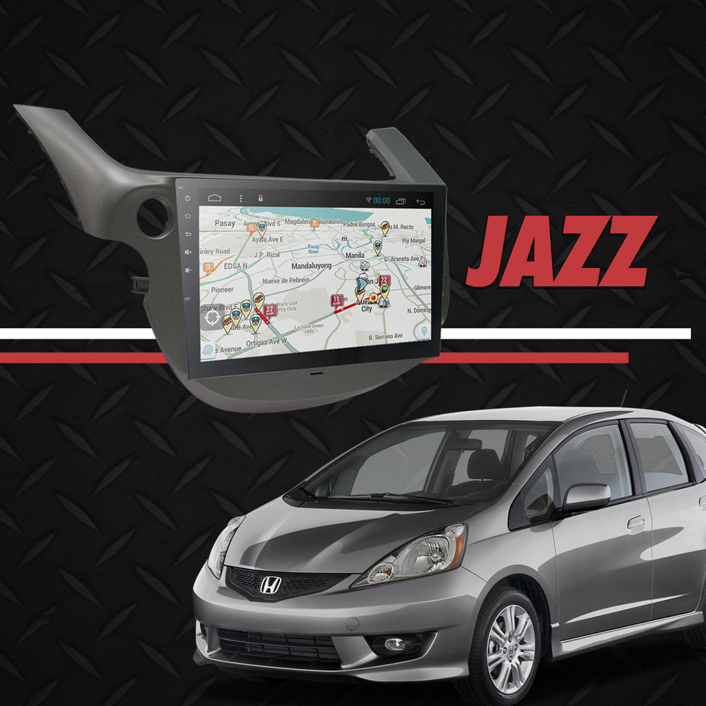 "Growl for Jazz 2007-2013 All Variants Android Head Unit 10"" FULL TAB"