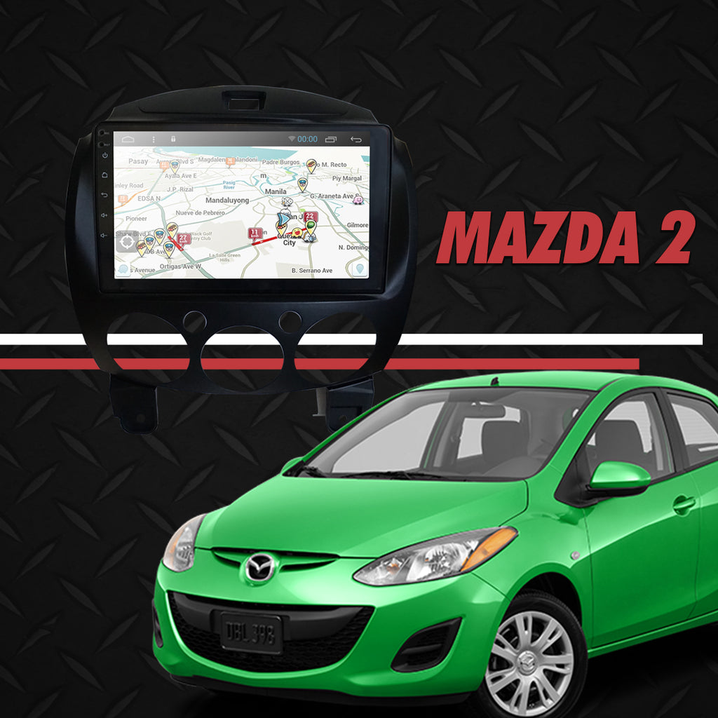 "Growl for Mazda 2 2013-2014 All Variants Android Head Unit 9"" Screen"