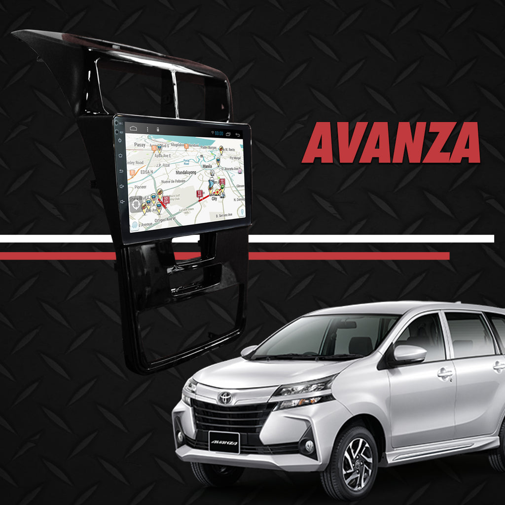 "Growl for Toyota Avanza 2020 Android Head Unit 9"" Screen"