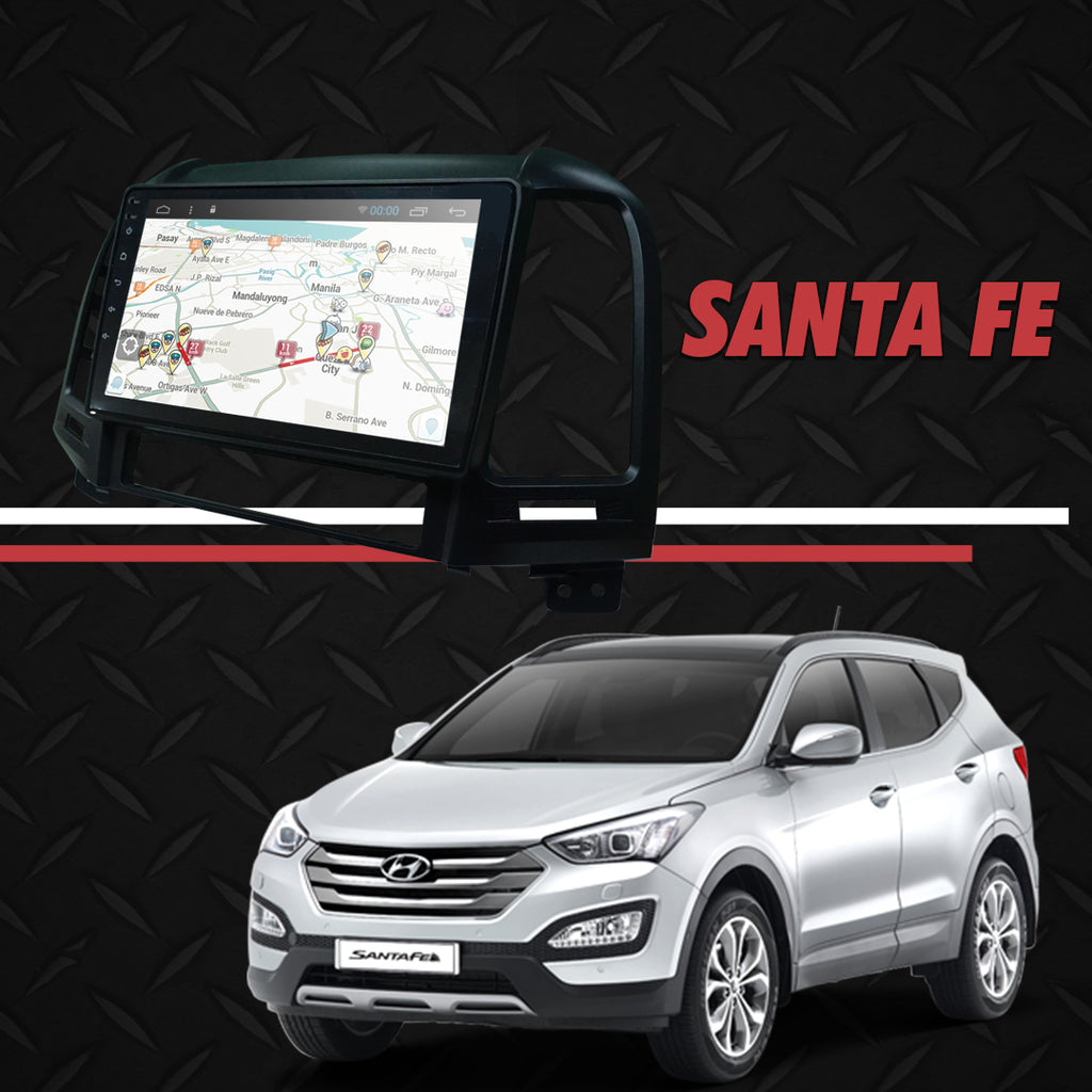 "Growl for Hyundai Santa Fe 2007 All Variants Android Head Unit 9"" Screen tab"