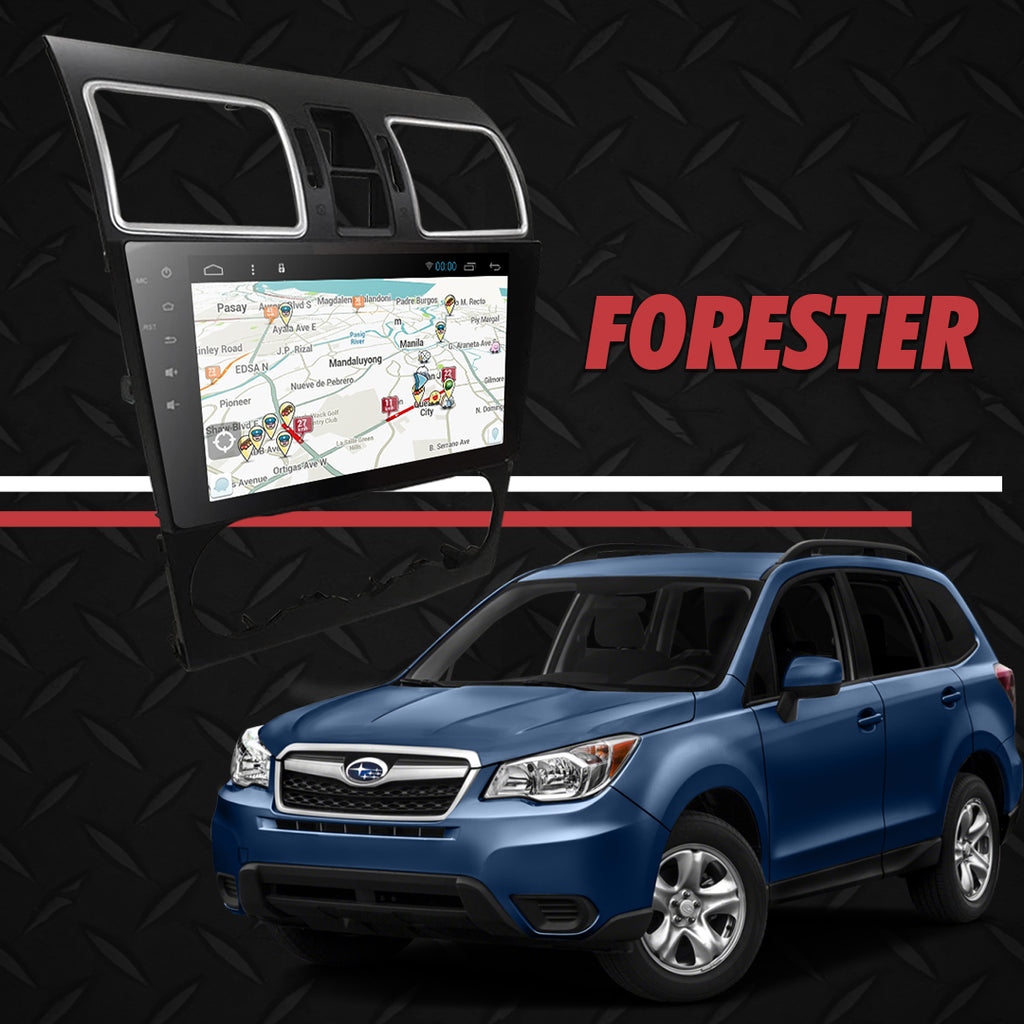 "Growl for Subaru FORESTER 2017-2018 forester/wrx/sti (2 hole)  Android Head Unit 9"" FULL TAB"