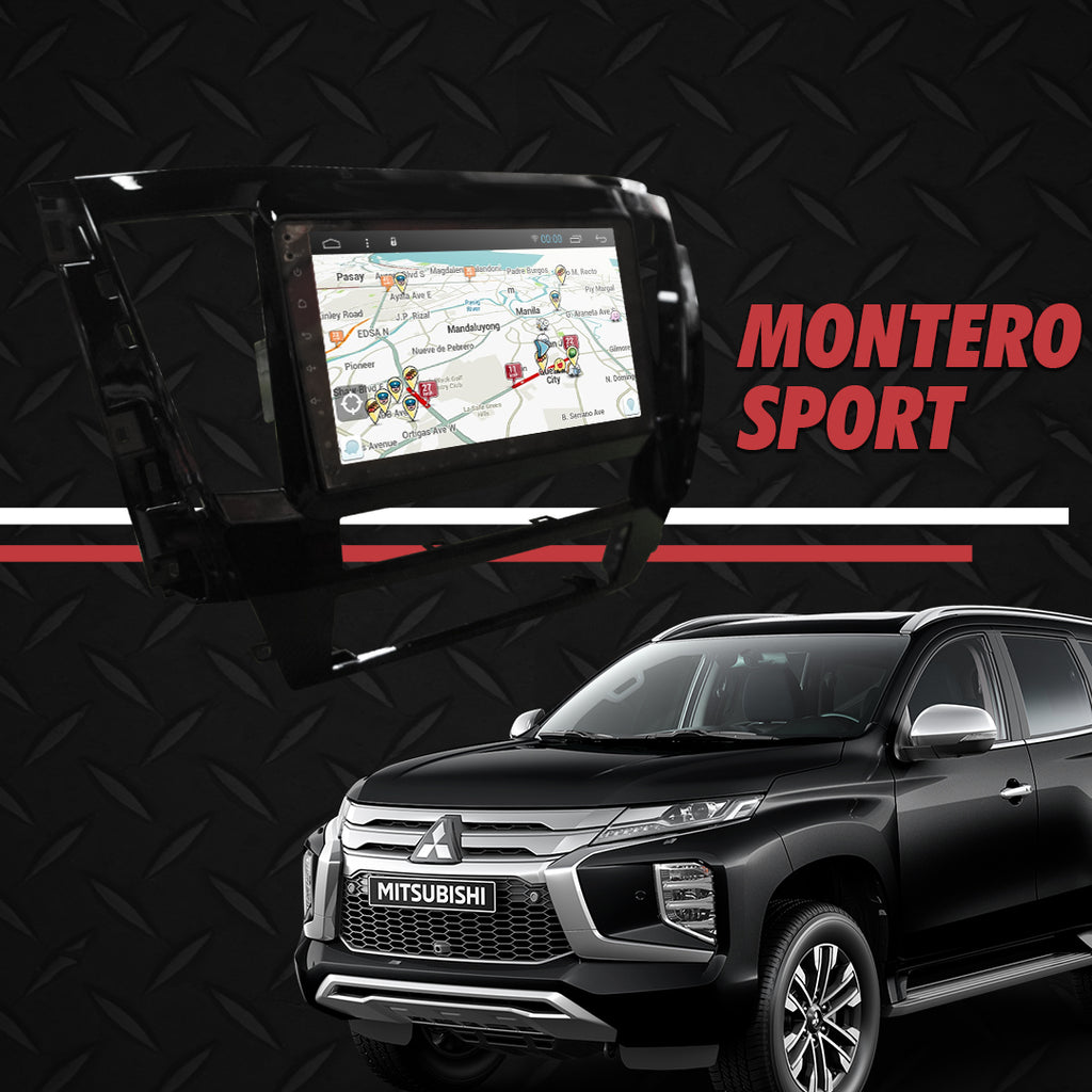 "Growl for Mitsubishi Montero 2020 Android Head Unit 9"" FULL TAB"