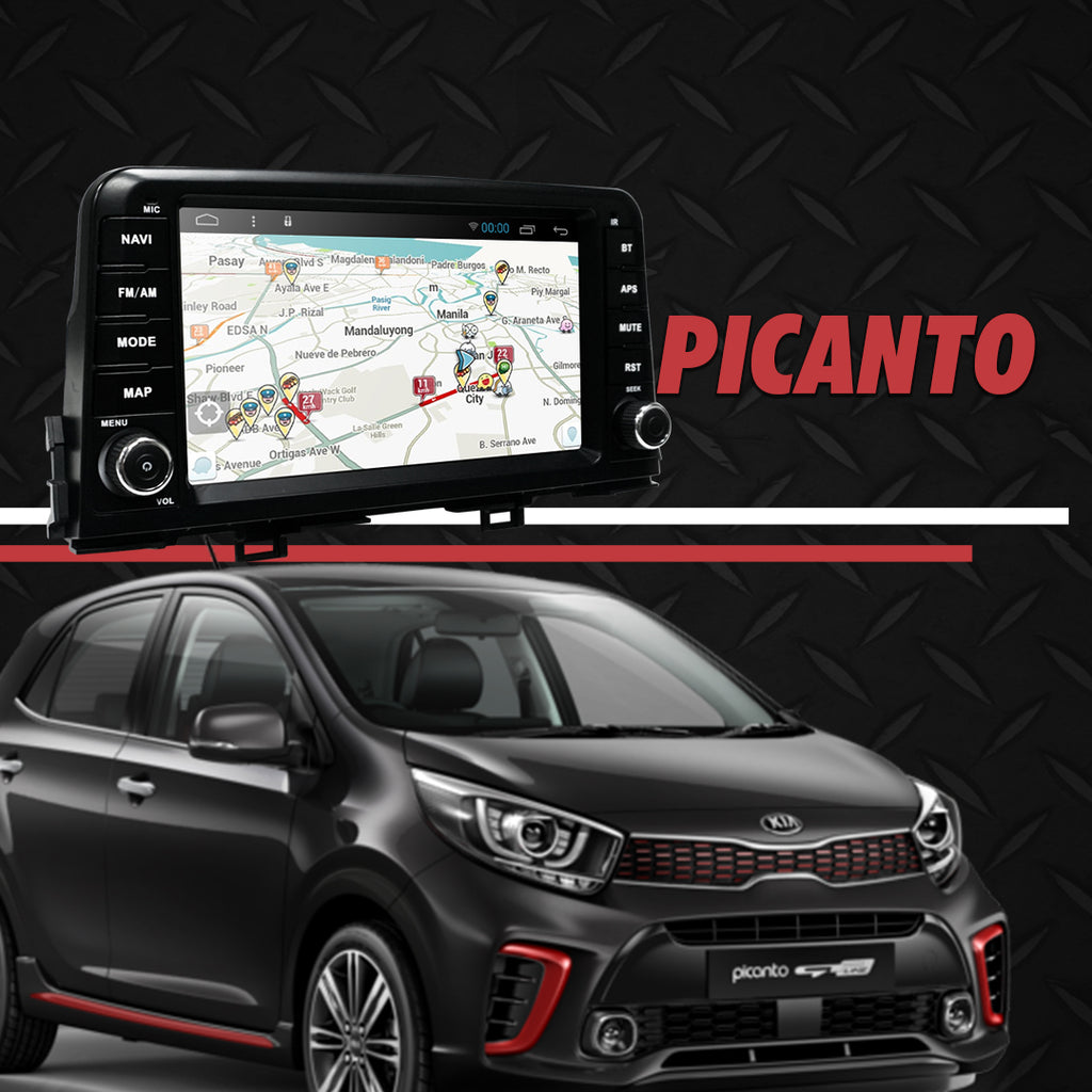 Growl for Kia All New Picanto 2017-2020 All Variants Android Head Unit 8""