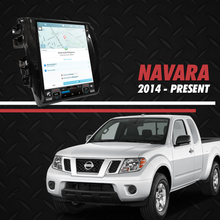 "Load image into Gallery viewer, Growl for Nissan Navara 2014-2020 EL, VL, Calibre Android Head Unit 12.1"" Vertical Screen"