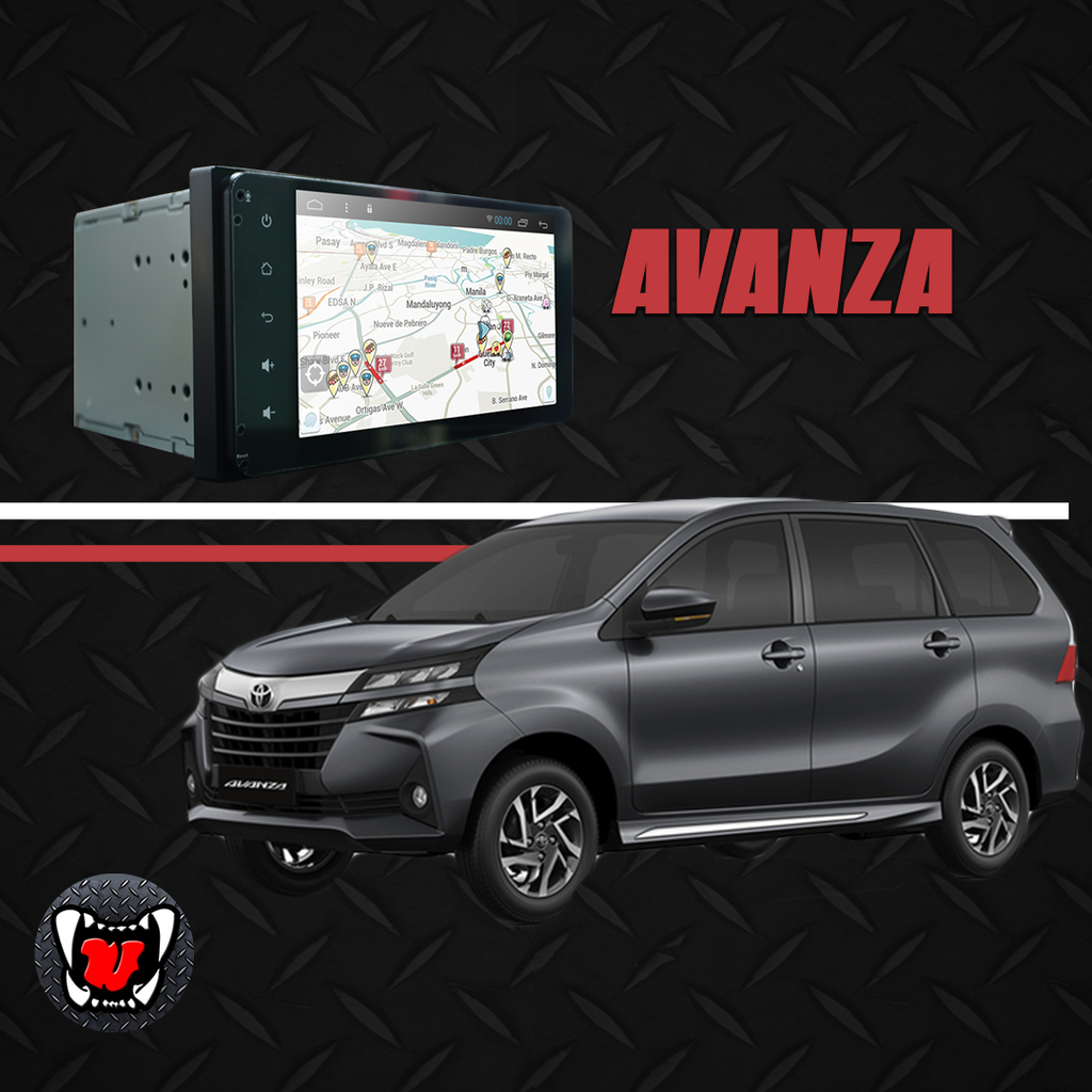 "Growl for Toyota Avanza 2019-2020 Matic Android Head Unit 7"" Screen"