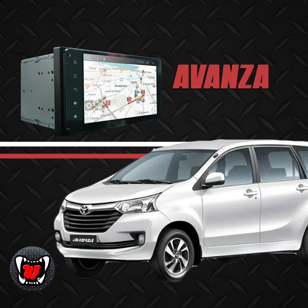 "Growl for Toyota Avanza 2019-2020 Manual Android Head Unit 7"" Screen"