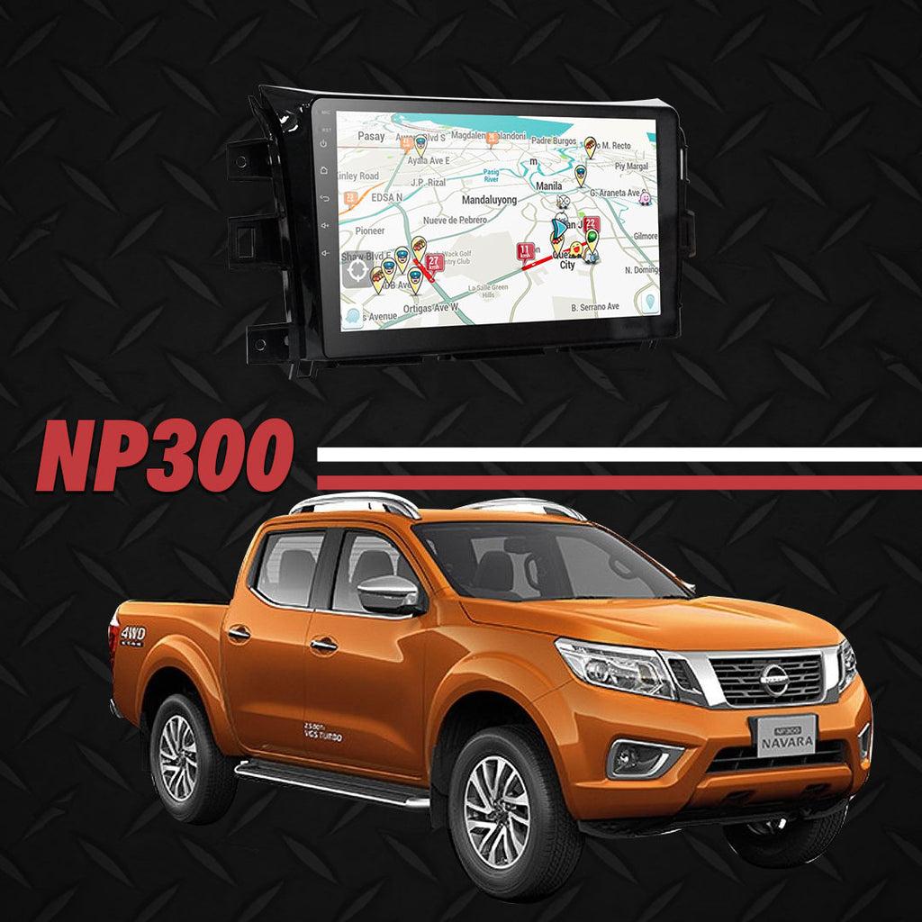 "Growl for Nissan Navara 2014-2020 All Variants Android Head Unit 10"" FULL TAB"