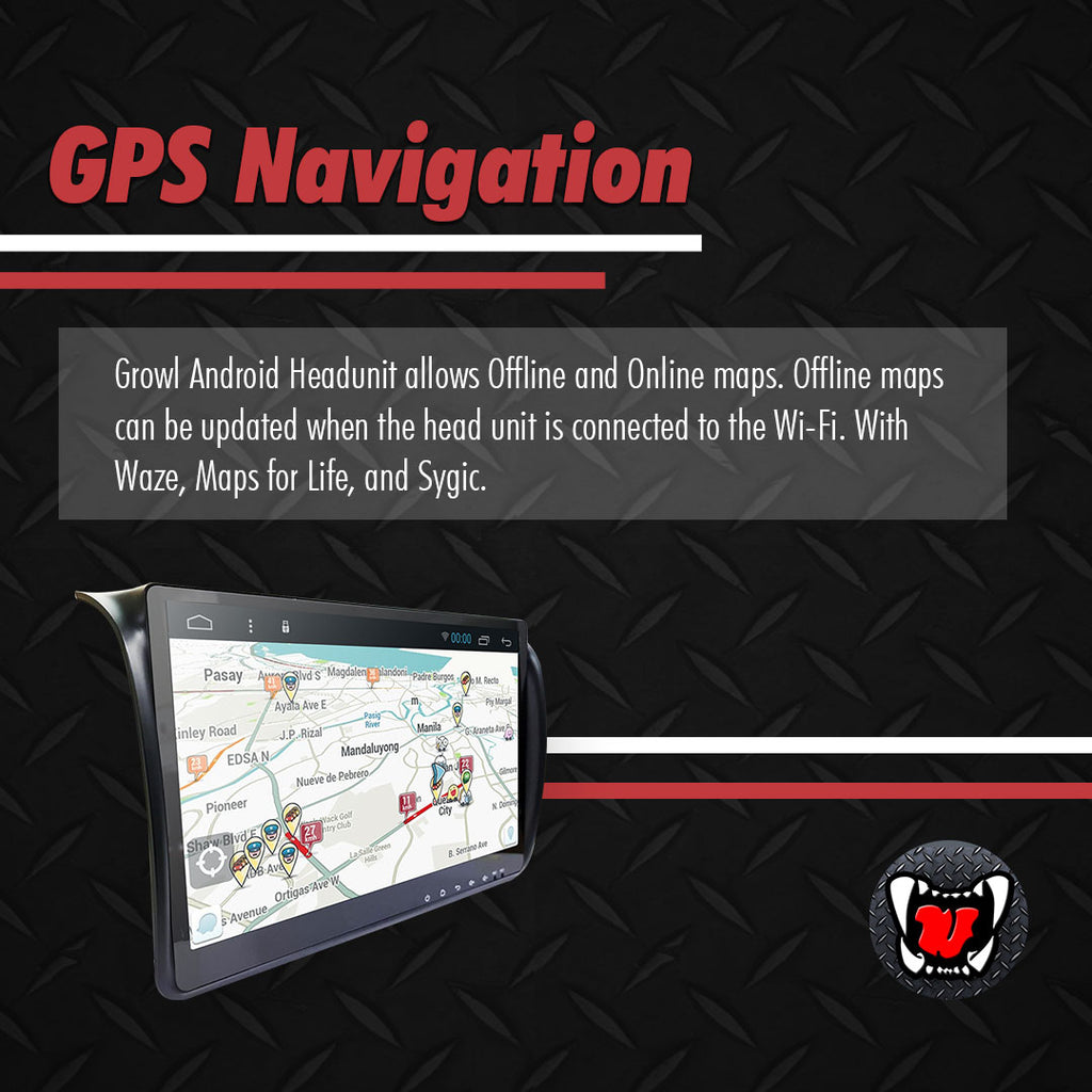 "Growl for Nissan NV350 Urvan 2015-2020 All Variants Android Head Unit 10"" FULL TAB"