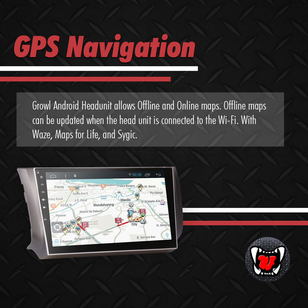 "Growl for Nissan Sylphy 2014-2019 All Variants Android Head Unit 9"" FULL TAB"