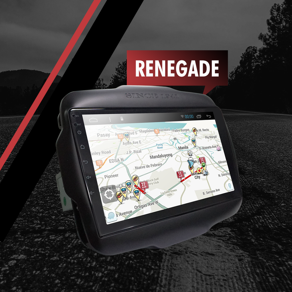 Growl for Jeep Renegade 2016-2019 All Variants Android Head Unit 9""