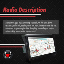 Load image into Gallery viewer, Growl for Jeep Rubicon 2019 All Variants Android Head Unit 9""