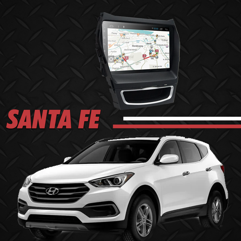 "Growl for Hyundai Santa Fe 2014-2018 All Variants Android Head Unit 9"" Screen"