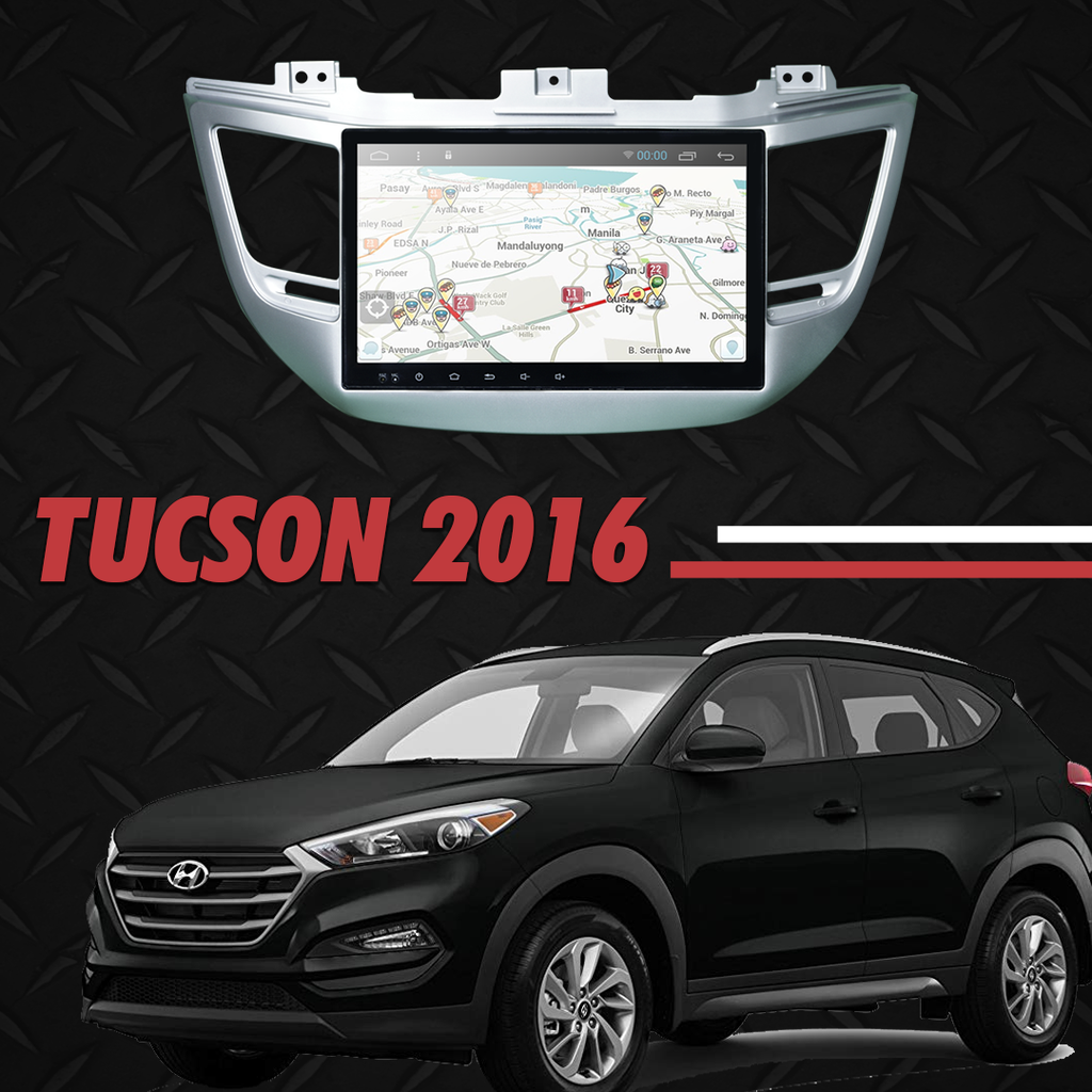 "Growl for Hyundai TUCSON 2016-2018 All Variants Android Head Unit 10"" Screen"
