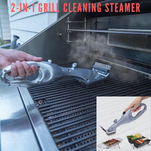 2-In-1 Grill Cleaning Steamer